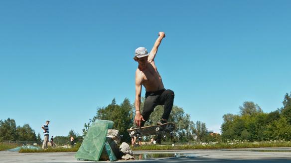 Glass Skateboarding