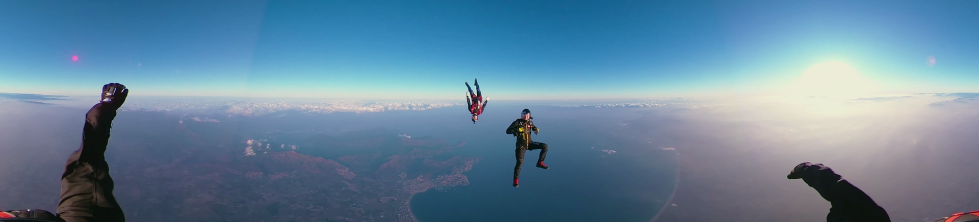 Tele2 Skydiving 360 VR & Web