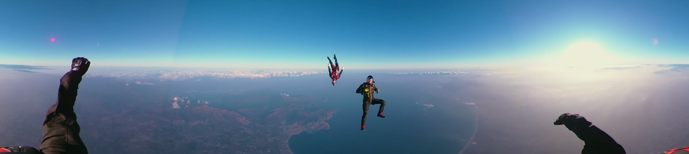 Tele2 Skydiving 360 VR & Web
