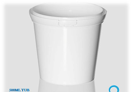 500Ml Plastic Tub