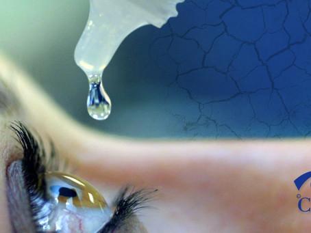 Cuidados com os olhos no tempo seco