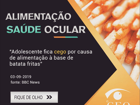 Os alimentos interferem na saúde dos olhos?