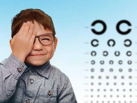 O sistema visual em crianças
