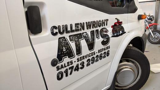 CULLEN WRIGHT ATV'S
