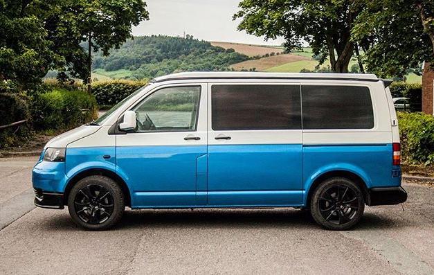 Half Wrap - VW Camper Van