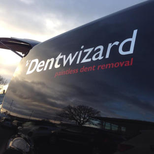 Dent Wizard - Crhome & Red Branding