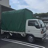 幌付き2トントラック