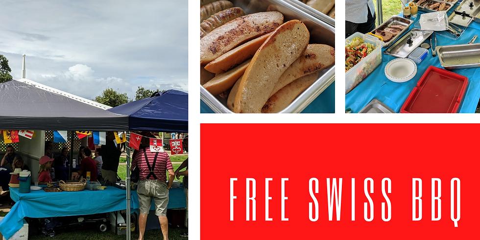 Free Swiss BBQ Bronte Park