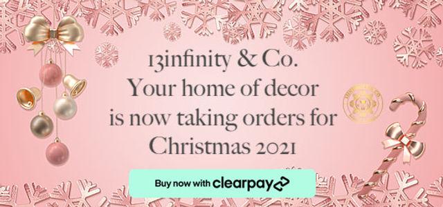 13infinity & Co. Christmas orders