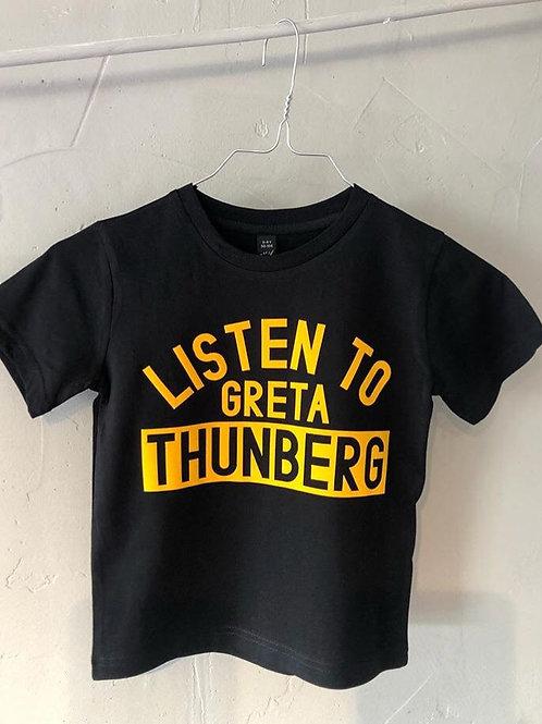 Greta Thunberg // Co-Lab Trykkeren & Spyo // KIDS