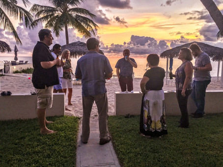 Sunsets and Cocktails at the September Happy Hour