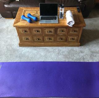 Duncans workout setup!