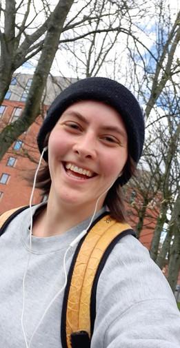 Toni on a run!