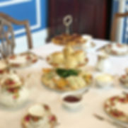 A high tea featuring scones, sandwiches & sweet treats accompanied by Zealong Tea.