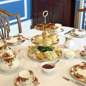 A high tea featuring scones, sandwiches & sweet treats accompanied by Zealong Tea.