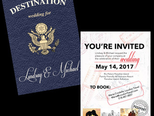 Destination Wedding Invites!