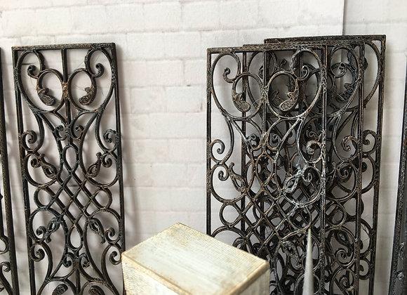 'Wrought iron' panels