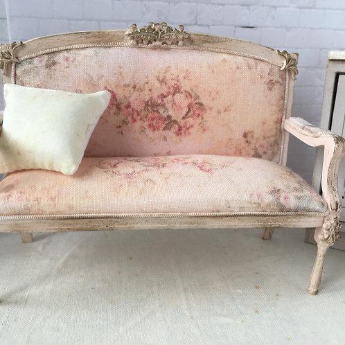 Delicate sofa