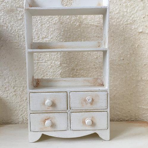 4 Drawer 3 shelf unit