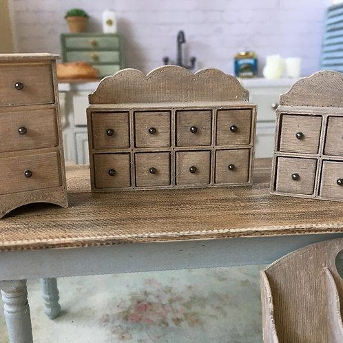 8 drawer spice/herb storage
