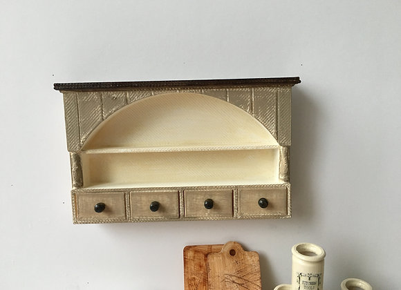 Arched Wall shelf short