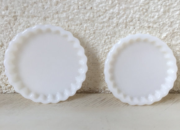 Set of 2 Flan dishes