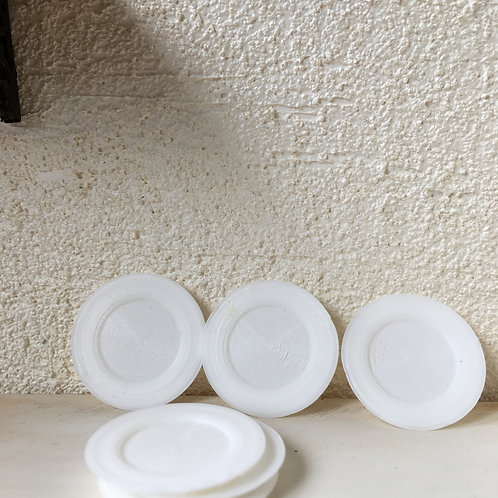 Tea plates x 6