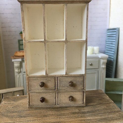 6 Section and 4 drawer unit
