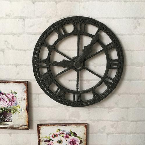 'Wrought iron' Clock