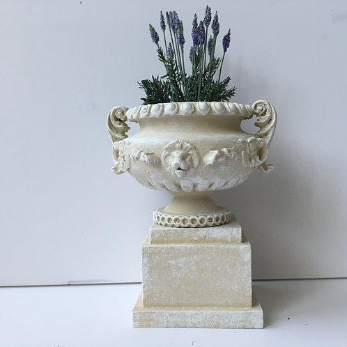 Majestic Ornate Lion Urn