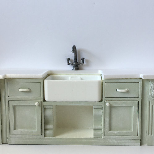 Rustic Kitchen sink ext