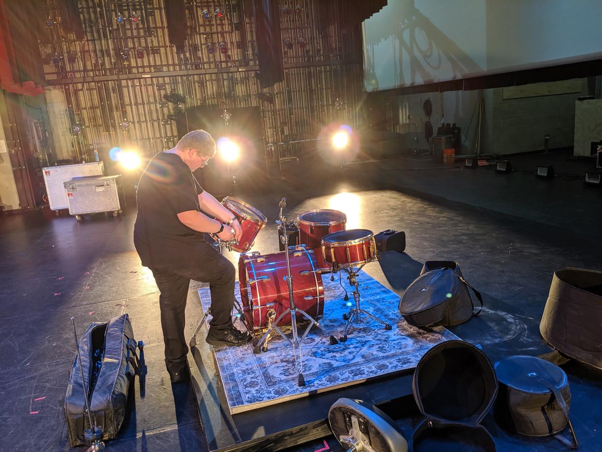 Backstage Setup