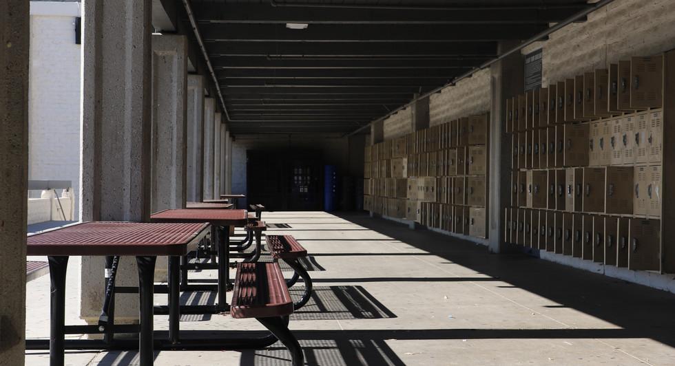 CHS Locker Hallway