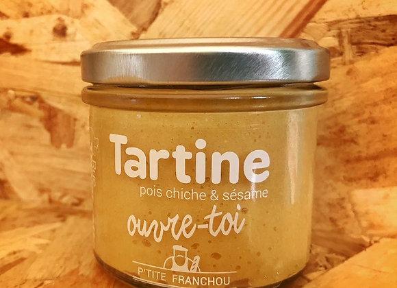 TARTINE Pois Chiche & Sésame Ouvre-Toi