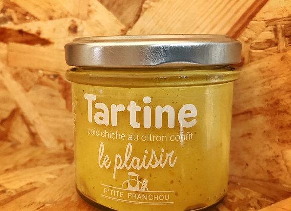 TARTINE Le Plaisir Pois Chiche au Citron Confit