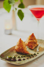 Our Signature handmade Punjabi Samosa