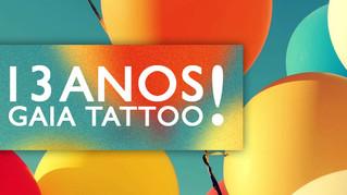 13 Anos de Gaia Tattoo