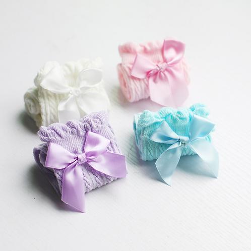 Lace Bows Socks