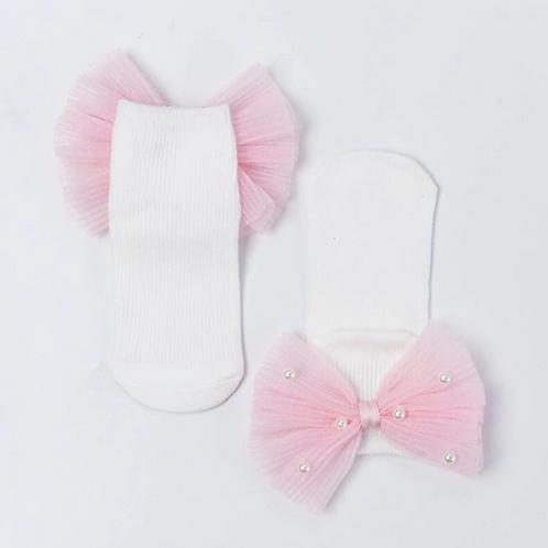 Princess Socks with Bow