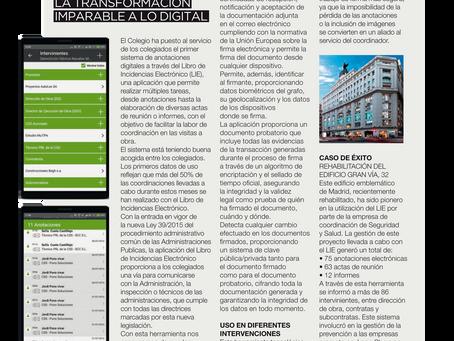App LIE en la revista BIA APAREJADORES MADRID