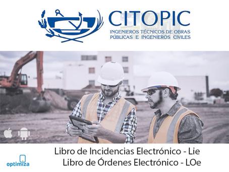 Acuerdo entre el CITOPIC y OPTIMIZA PROCESS para la implantación del Libro de Incidencias electrónic