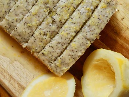 Easy Easter Lemon Poppyseed Loaf with Lemon Glaze