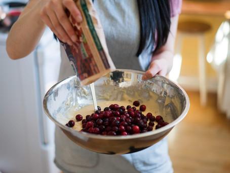 Spring-Inspired Cranberry-Orange Muffins