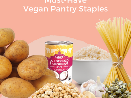 Must-Have Vegan Pantry Staples