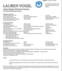 Lauren Vogel Resume