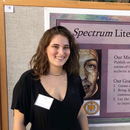 Humans of Spectrum: Talia White, Web Editor