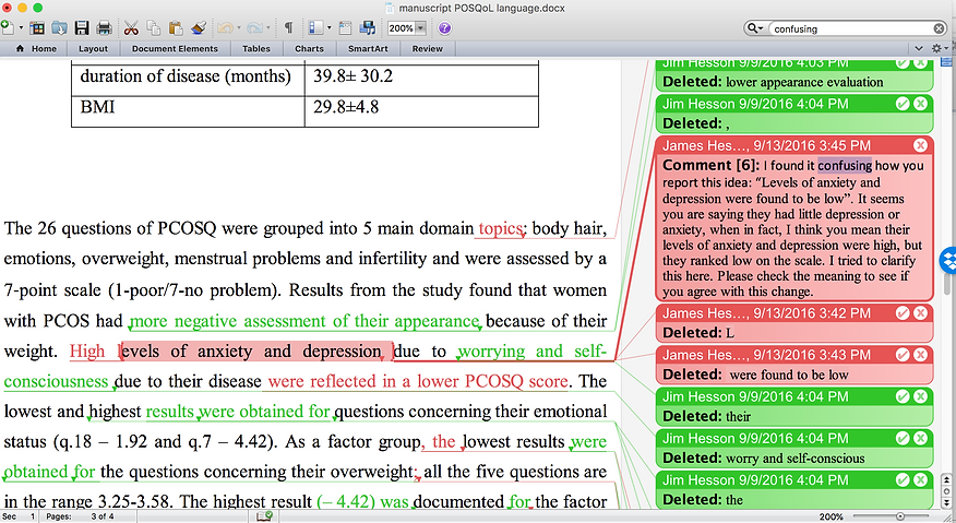 Example of an edited research paper