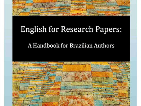 English for Research Papers: A Handbook for Brazilian Authors