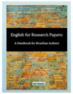 This guidebook explicitly addresses the needs of Brazilian authors writing research papers in English, providing practical lessons and exercises, focusing on avoiding common errors made by Portuguese speakers writing in English.