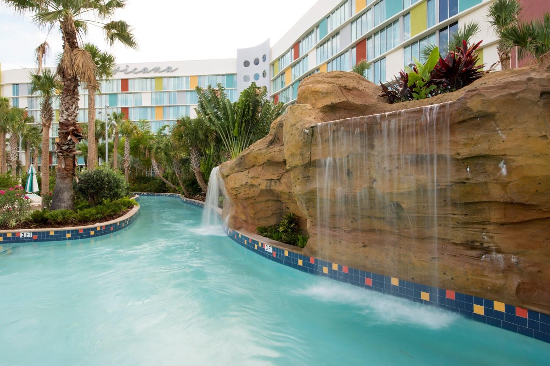 Cabana Bay Waterfall